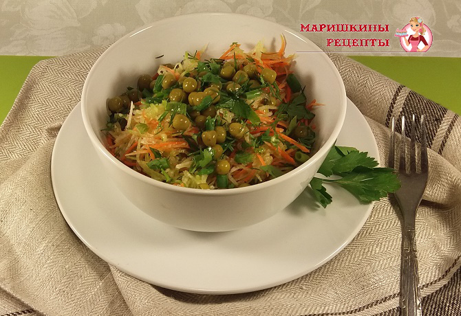 салат из редьки рецепты с фото