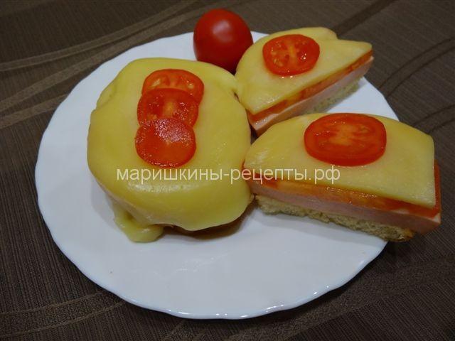 Вкусные горячие бутерброды