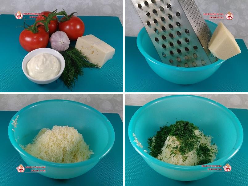 Натираем сыр твердых сортов