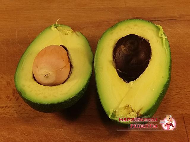 Разрежем авокадо