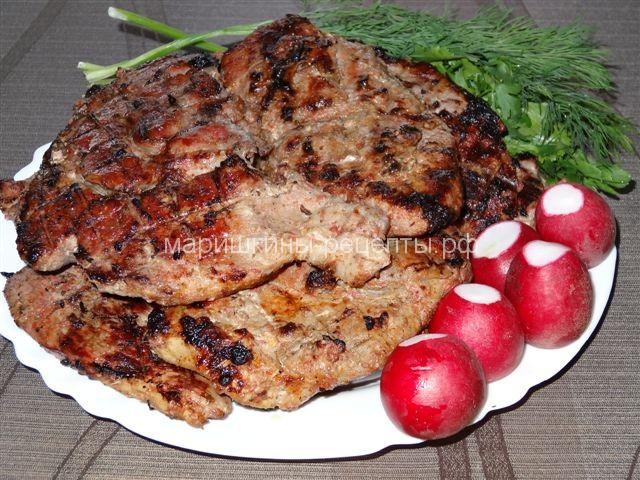 Свиная шейка отбивные рецепт пошагово в 81