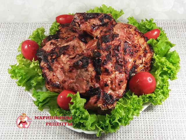 Свинина в томатно-чесночном маринаде 1