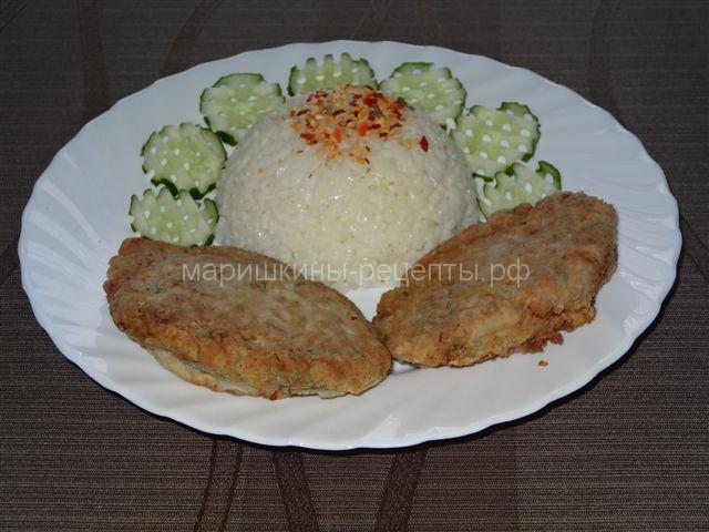 Рыбные котлеты из толстолобика на сковороде