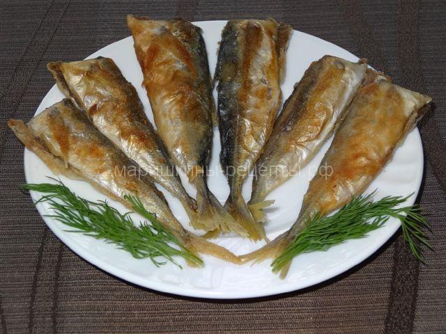 Жареная ставрида рецепт с фото