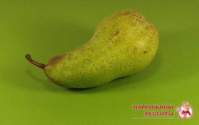 Зеленая груша хорошо подходит для маринада