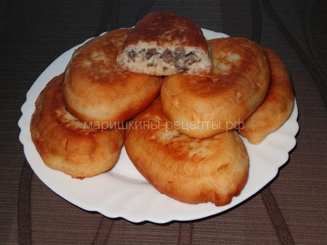 Пирожки с ливером жареные на сковороде