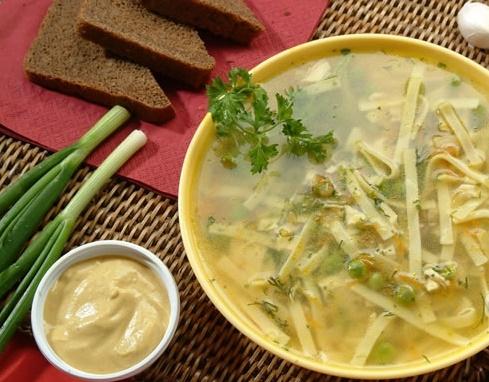 татарский суп с лапшой