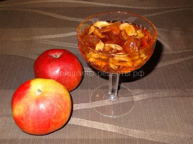 Популярное яблочное варенье