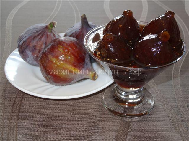Вкусное варенье из инжира на зиму