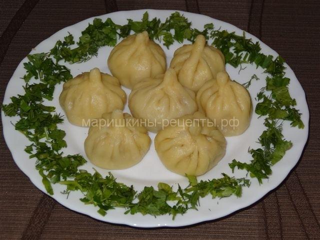 Хинкали из баранины рецепт пошаговый с фото