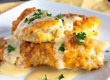 Картофель с филе курицы