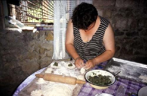 Классические хинкали по грузински из баранины
