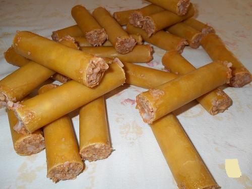 Каннеллони с мясом в томатной заливке
