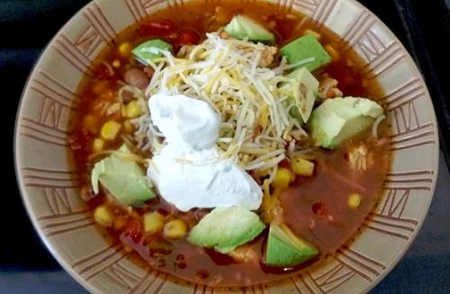 Суп из бобов и фасоли