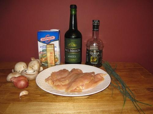 курица в вине рецепт