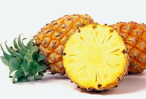 Как разрезать ананас