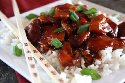 Куриная грудка на сковороде жареная по китайски