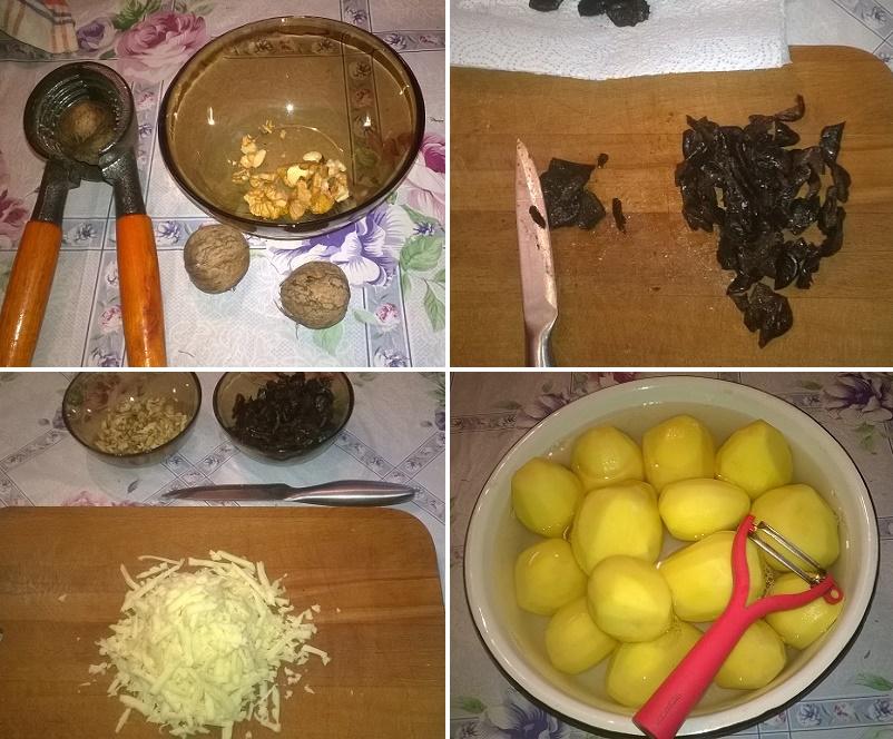 Домашний куриный рулет с черносливом в духовке