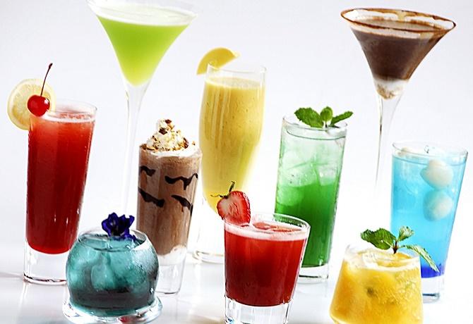 Безалкогольный коктейль для праздничного стола
