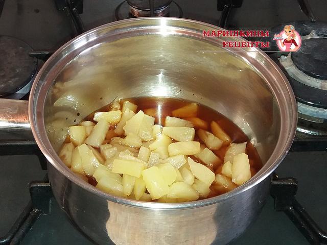 Добавляем ананасы