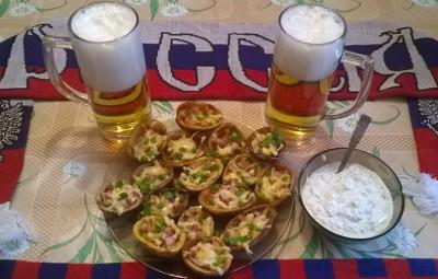 Вкусная закуска к пиву в домашних условиях