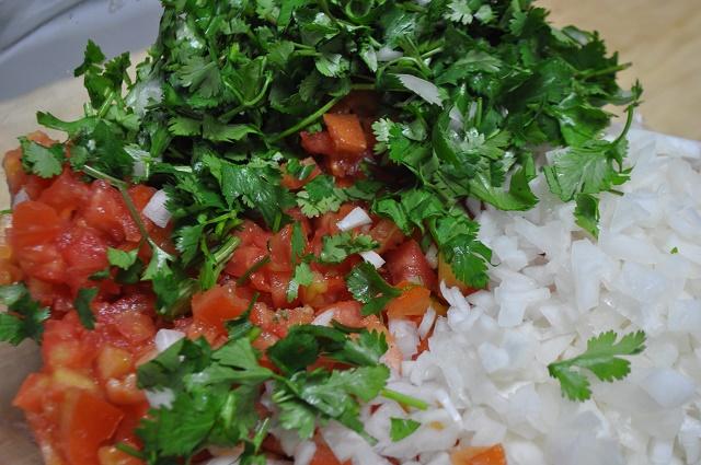 Мексиканский соус сальса классический
