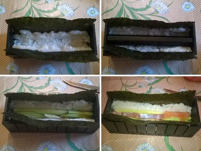 роллы с лососем и огурцом в домашних условиях