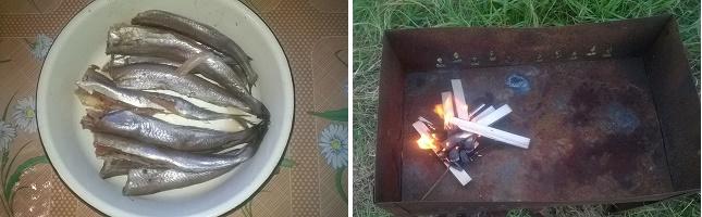 Путассу горячего копчения по домашнему на ольхе