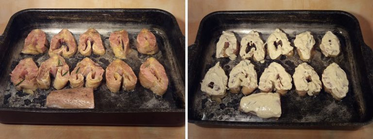 Рецепты стерляди в духовке кусочками рецепты
