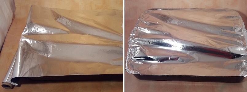 Осетр запеченный в духовке кусочками в фольге