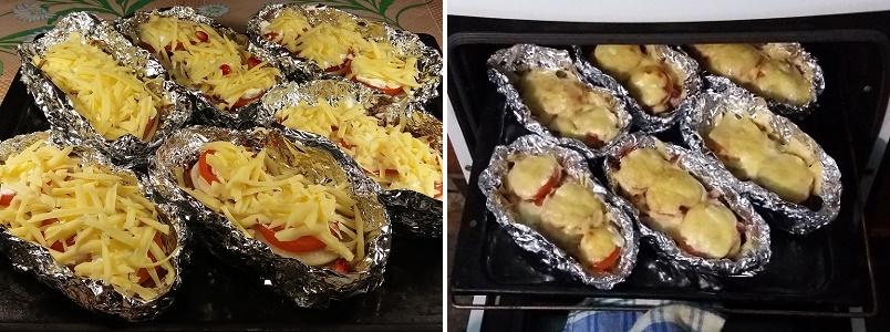 Кета с помидорами в духовке рецепты