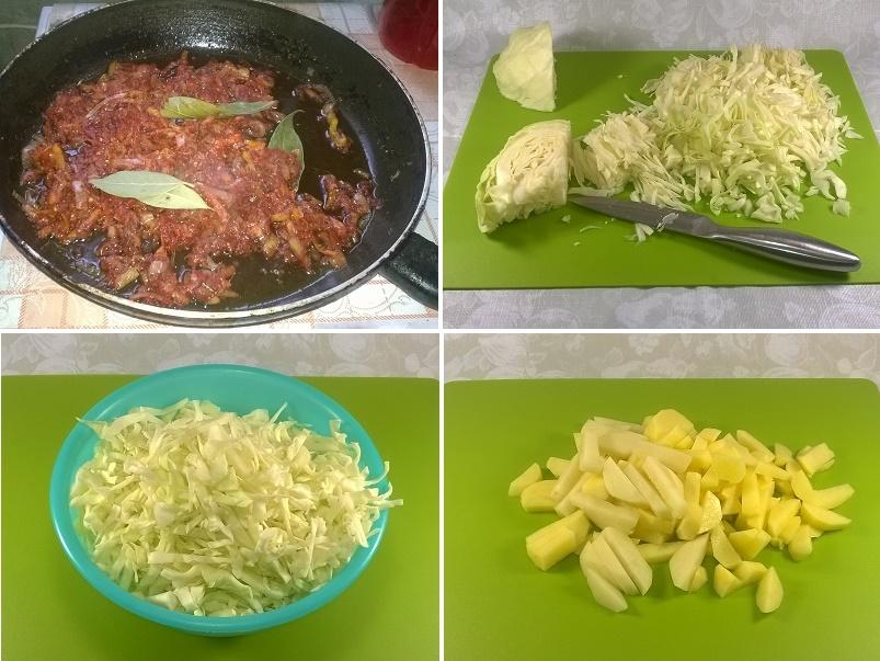 Вкусные щи из свежей капусты со свининой и овощами