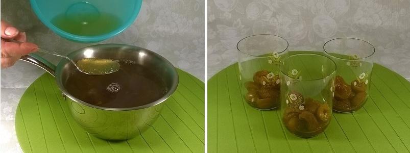 Домашнее желе с фруктами от компота на десерт
