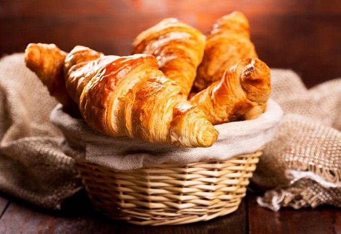 Домашние круассаны французские традиционные