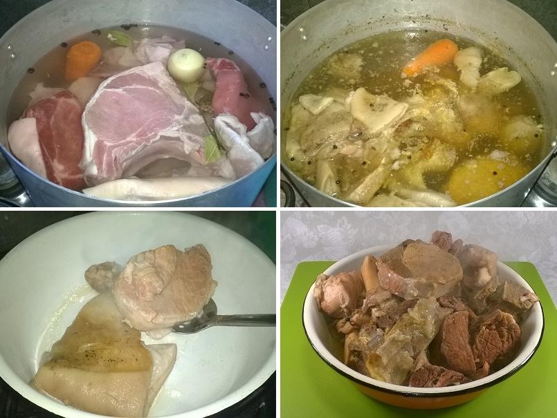 Холодец из свинины и говядины сложный но вкусный