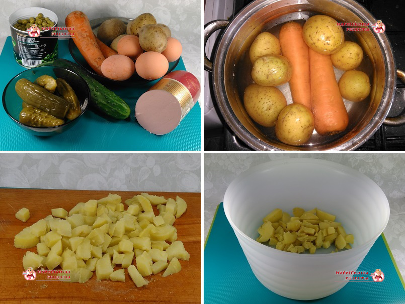 Подготовим овощи к нарезке