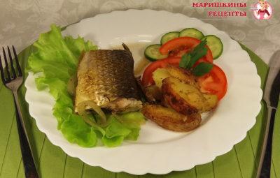 Пеленгас в духовке, в фольге для повседневного ужина