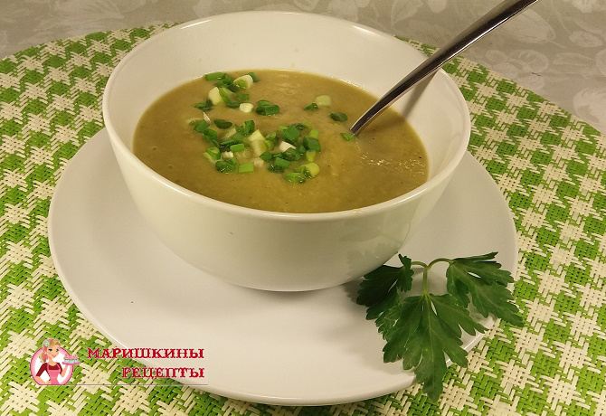 Овощной суп пюре