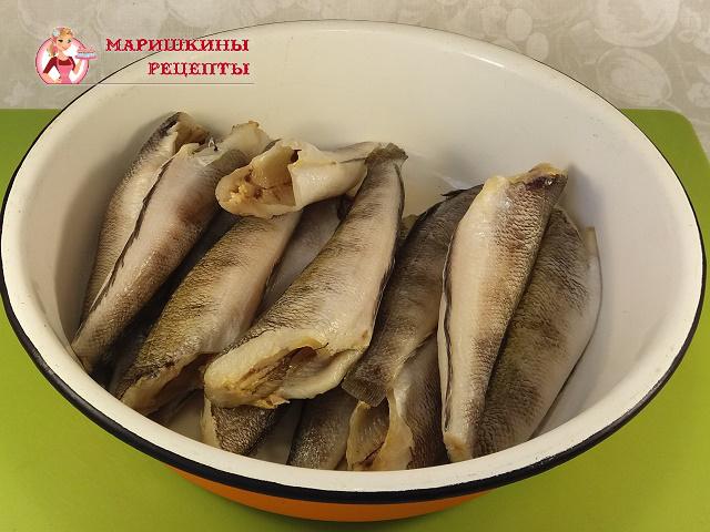 Чистим рыбу от чешуи