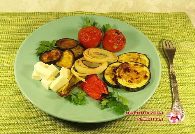 Как приготовить овощи гриль в домашних условиях