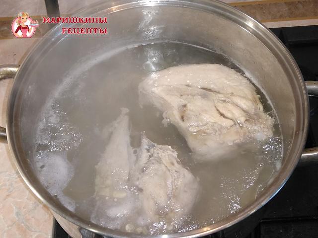 Сварим куриный бульон