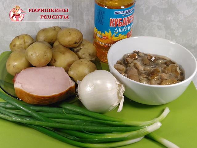 Ингредиенты для классического рецепта