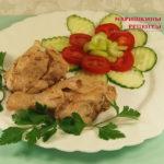Тушеная курица в банке, рецепт приготовления в духовке, в собственном соку