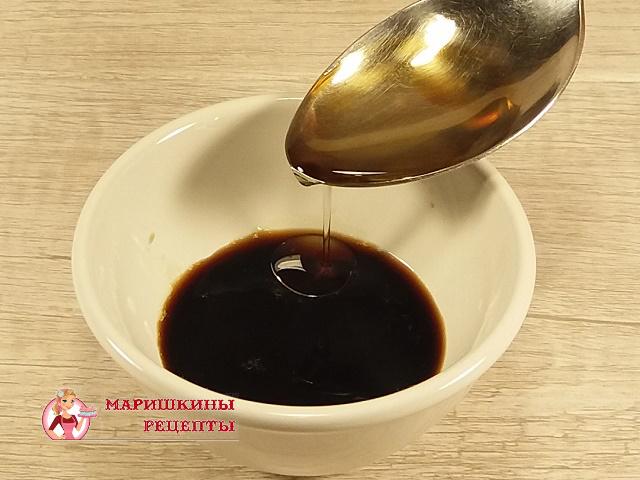 Добавим в заправку растительное масло